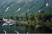 Within easy reach of Anchorage you will find many great fishing lodges.