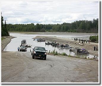 Salmon fishing in alaska deshka river for Anchorage alaska fishing