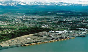 Port of Anchorage Alaska.